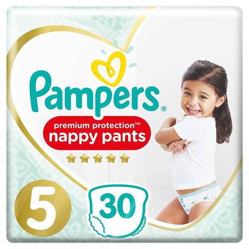 Pampers Premium Protection 5 40 Nappy Pants