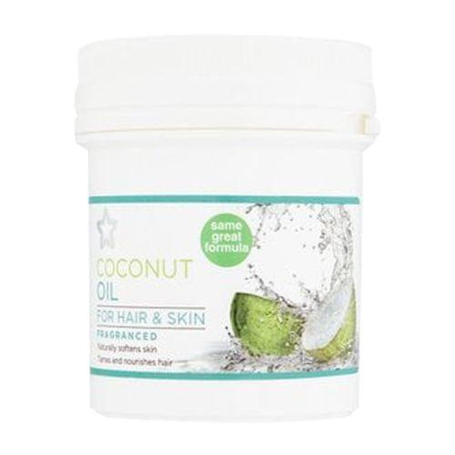 Superdrug Coconut Oil for Hair & Skin 125ml