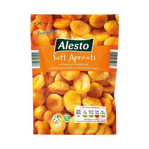 Alesto Soft Pitted Apricots