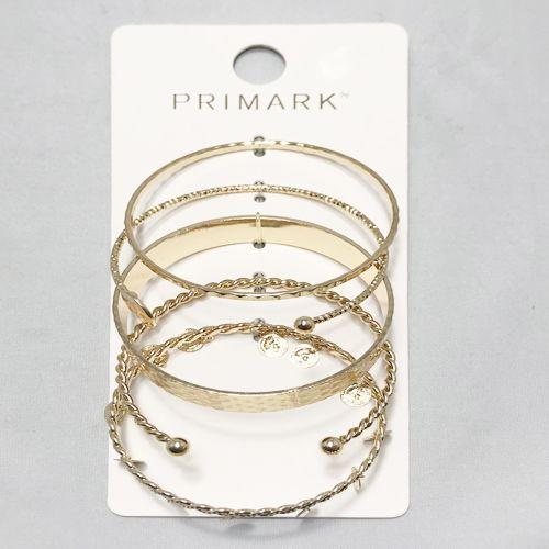 Primark Golden Bankles