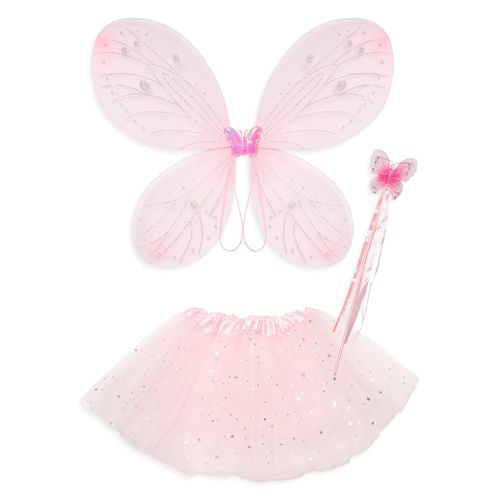 Primark Younger Girl Pink Fairy Costume Set