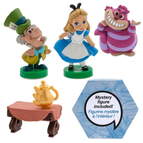 Disney Store Disney Animators' Collection Littles Alice in Wonderland Playset