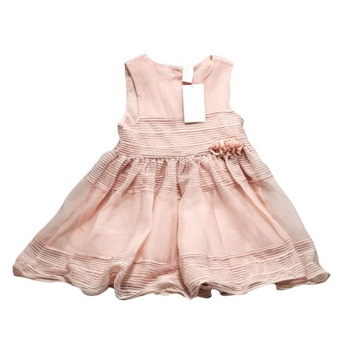 H&M Light Pink Dress with Flower for Girls