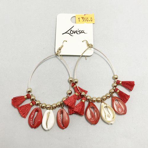 Lovisa Red Round Earring