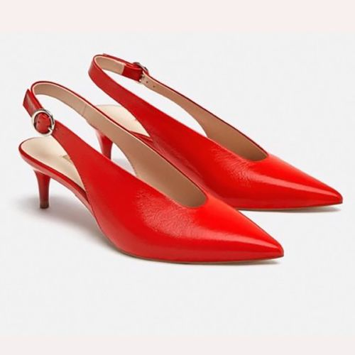 Zara Red Shoe