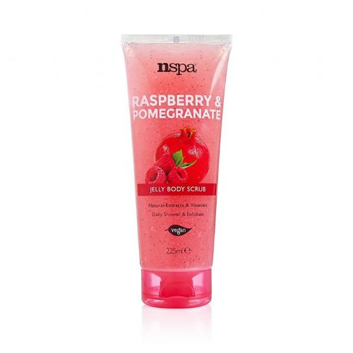 Nspa Raspberry & Pomegranate Jelly Body Scrub 225ml
