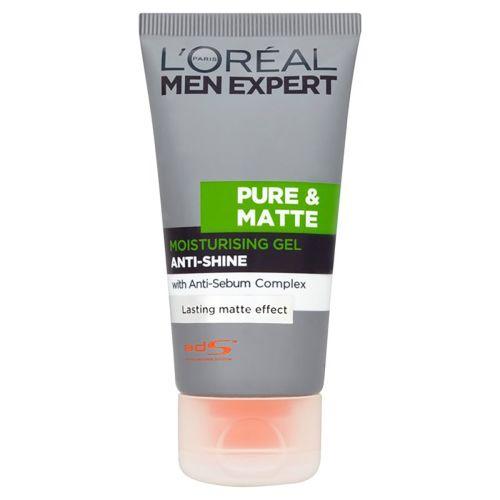 L'oreal Men Expert Pure And Matte Anti-shine Gel Moisturiser