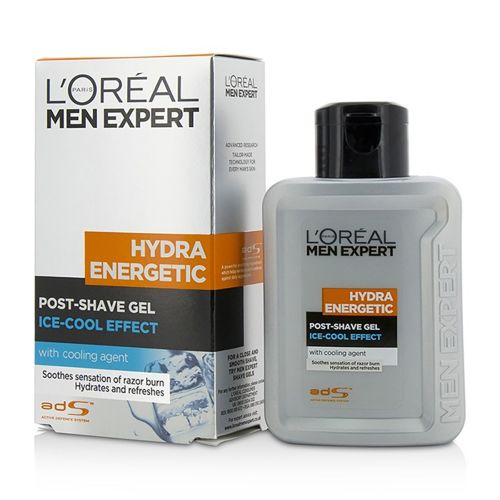Loreal Paris Men Expert Hydra Energetic Post-Shave Gel Ice-Cool Soothing Effect 100 ml