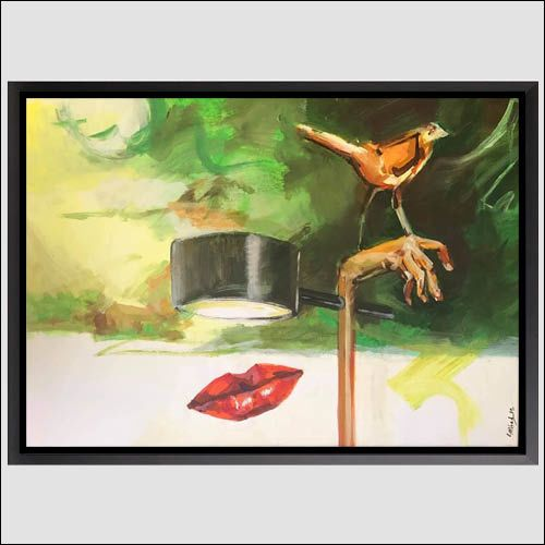 The Women( Acrylic colour painting,90x60cm
