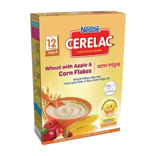Nestle CERELAC Wheat with Apple & Corn Flakes