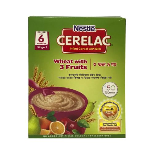 Nestle CERELAC Wheat with 3 Fruits