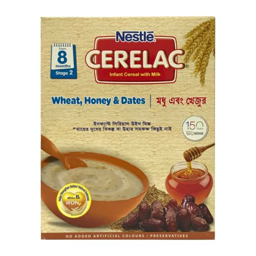 Nestle CERELAC Wheat, Honey & Dates