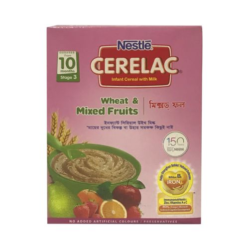 Nestle CERELAC Wheat & Mixed Fruits