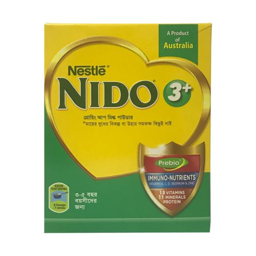 Nestle NIDO 3+ Growing-up Milk Powder 350g Pack