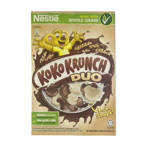 Nestle Kokokrunch Duo Chocolaty Breakfast Cereal 350g