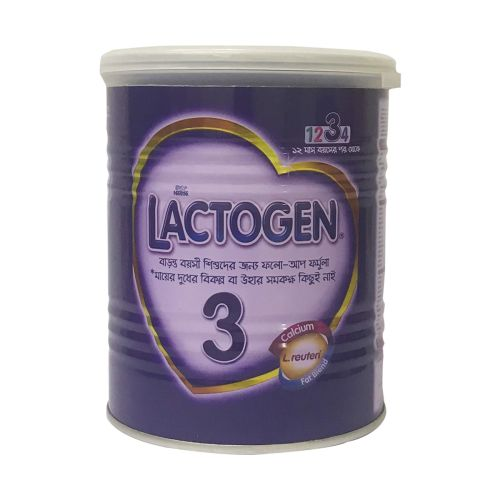 Nestle LACTOGEN 3 Lactogen 3 Follow-up Formula 400g Tin / 350g Pack