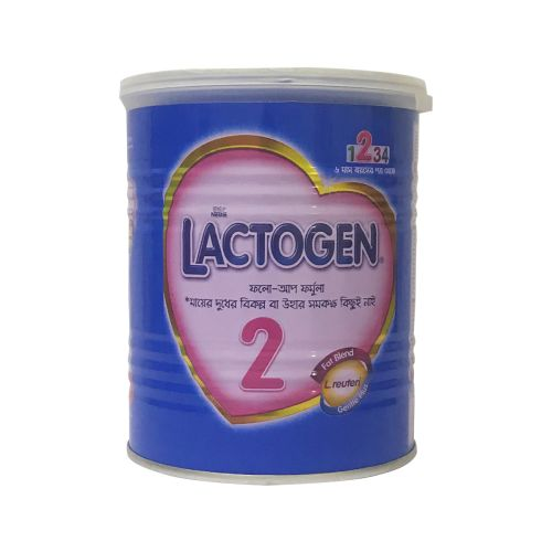 Nestle Lactogen 2 Follow-up Formula 400g Tin / 350g Pack