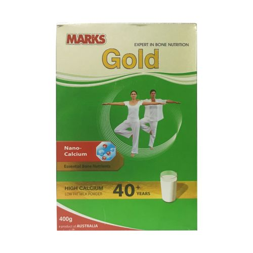 Marks Gold Low Fat Milk Powder 400g