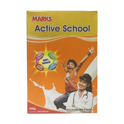 MARKS Active School Full Cream Milk Powder 400g