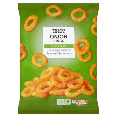 Tesco Onion Rings Snacks 150g