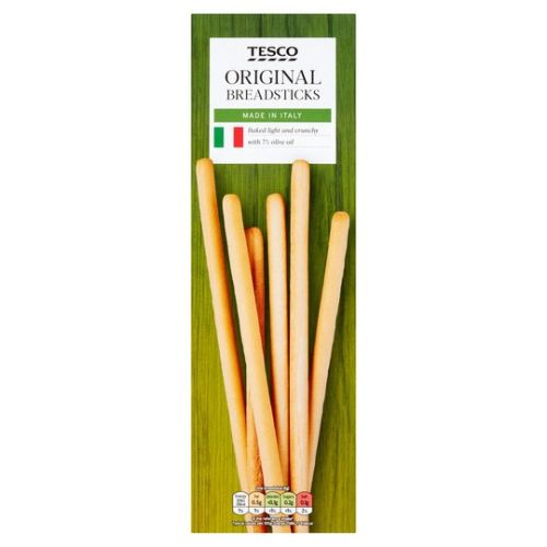 Tesco Italian Original Breadsticks 125G