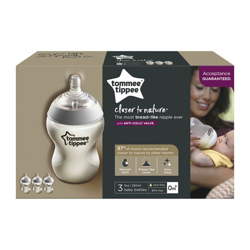 Tommee Tippee Closer to Nature Baby Bottles