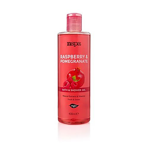 Nspa Raspberry & Pomegranate Bath And Shower Gel 400ml
