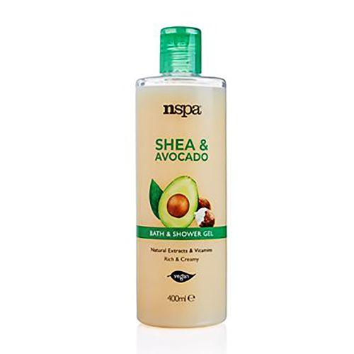Nspa Shea & Avocado Bath And Shower Gel 400ml