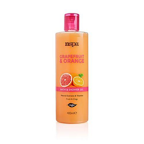Nspa Grapefruit & Orange Bath and Shower Gel 400ml