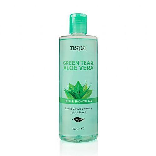 Nspa Green Tea & Aloe Vera Bath And Shower Gel 400ml