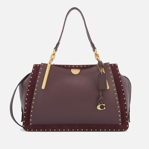 Coach Women's Border Rivets Mixed Leather Dreame