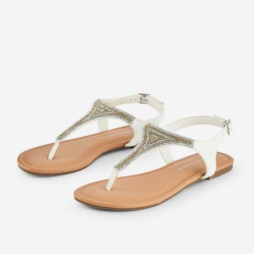 Dorothy Perkins White Festival Sandals