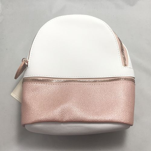PRIMARK- White and Pink Backpack Bag