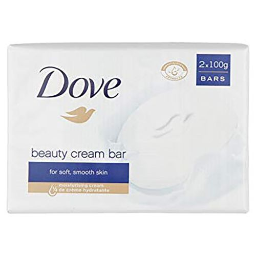 Dove Original Beauty Cream Bar For Soft Smooth Skin 4x100g