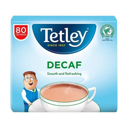 Tetley Decaffeinated Tea Bags 80 per pack