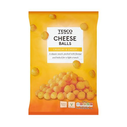 Tesco Cheese Balls Snacks 150G