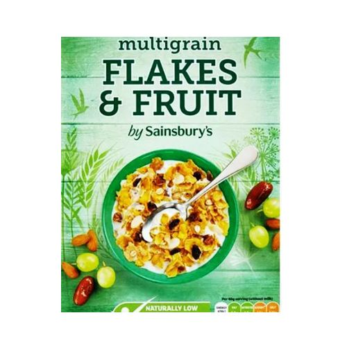 Sainsbury's Multigrain Flakes & Fruit