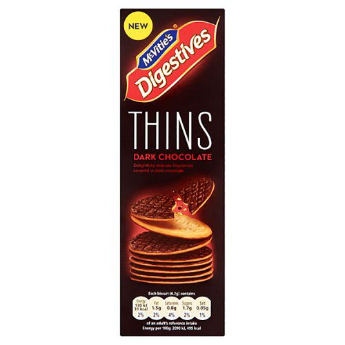 McVities Dark Chocolate Digestive Thins