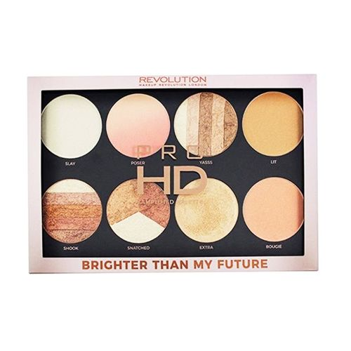 Makeup Revolution Pro HD Highlighter Palette - Brighter Than My Future