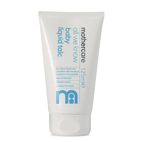 Mothercare all we know baby liquid talc - 125ml