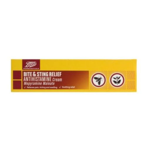 Boots Pharmaceuticals Bite & Sting Relief Antihistamine Cream - 20g