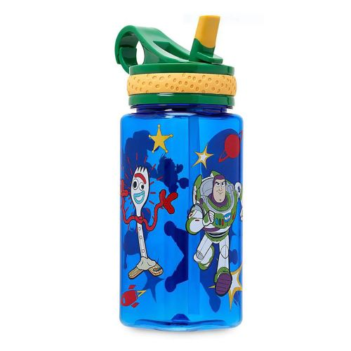 Disney Story 4 Water Bottle With Buil In Straw