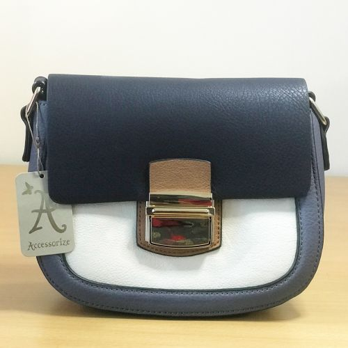 Accessorize Cross Body Bag With Shoulder Strap