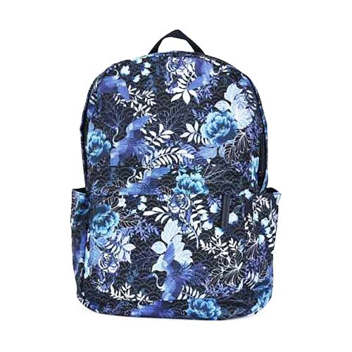Accessorize Oriental  Blue Jungle Print Dome School Bag