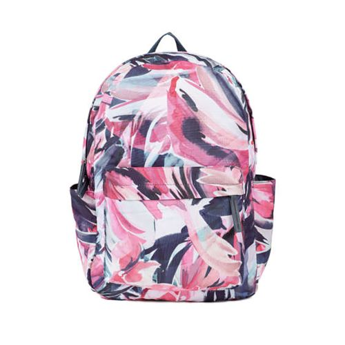 Accessorize Abstract Floral Pattern Printed School Bag