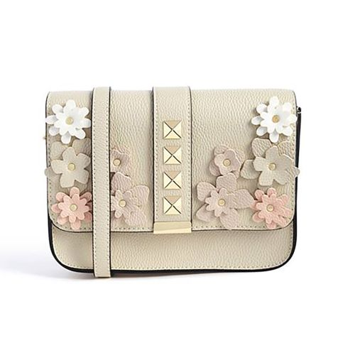 Primark White Floral Cross Body Bag with Shoulder Strap