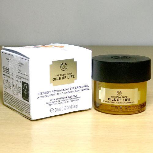 The Body Shop Oils of Life Eye Cream Gel 20 ml