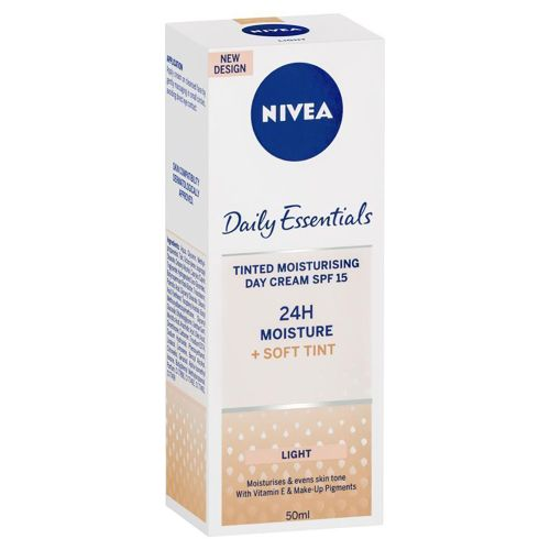 Nivea Visage Daily Essentials Tinted Moisturising Day Cream Light 50ml