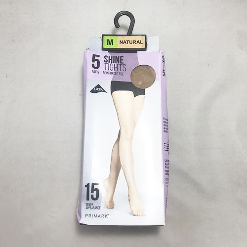 Primark 5 Pairs shine Tights