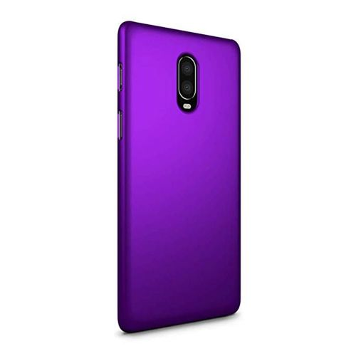 SLEO Case for OnePlus 6T Case - Rubberized Hard PC Back Case Cover for OnePlus 6T - Purple